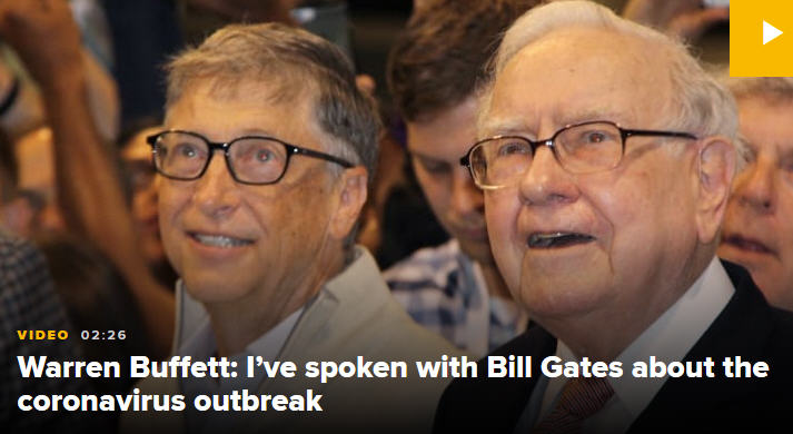 bill gates warren buffett